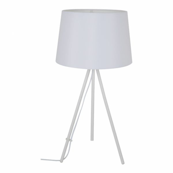 Stona lampa HN2208A Bela BBlink