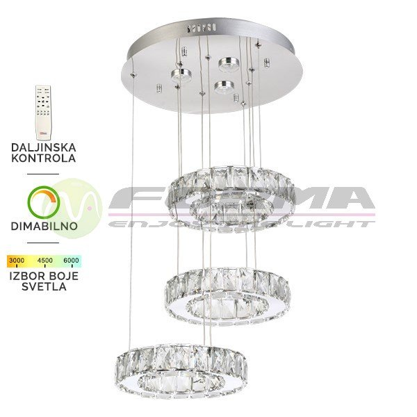 LED visilica KP6002 84V