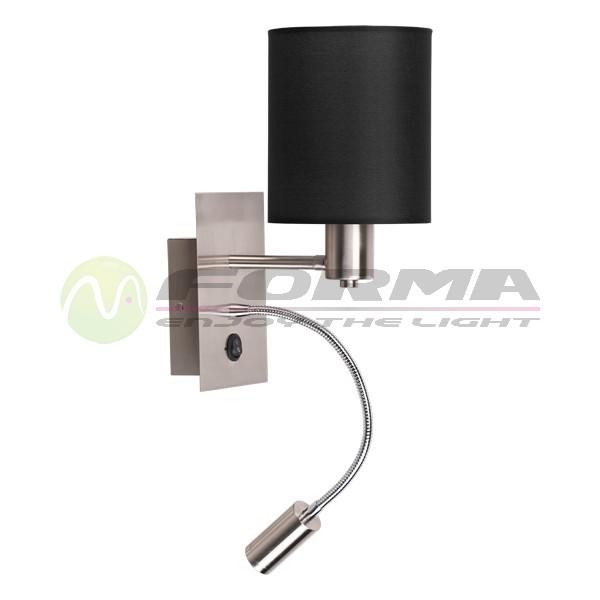 Zidna lampa F7704 1ZL BK