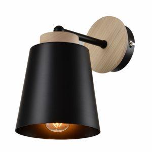 Zidna lampa Vesta 425 Crna