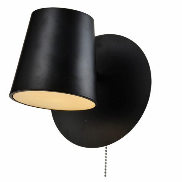 Zidna lampa Vesta 439 Crna